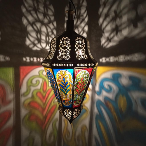 Marockansk taklampa